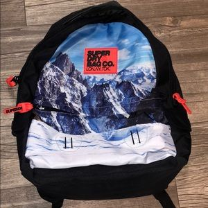 RARE superdry Mountains Backpack 🎒 🏔